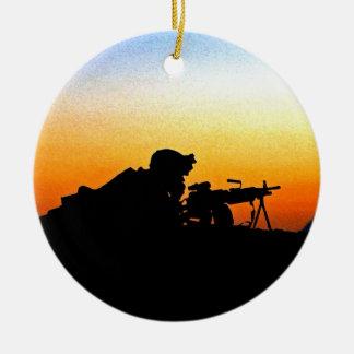 米国海兵隊賛美歌 セラミックオーナメント