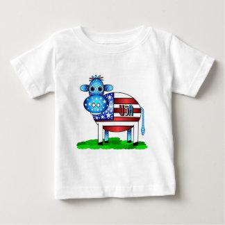 米国牛 ベビーTシャツ