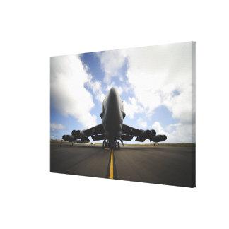 米国空軍整備工 キャンバスプリント
