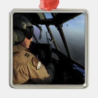 米国空軍C-130Jヘラクレスパイロット メタルオーナメント