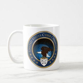米国米国のサイバー命令USCYBERCOMマグ コーヒーマグカップ