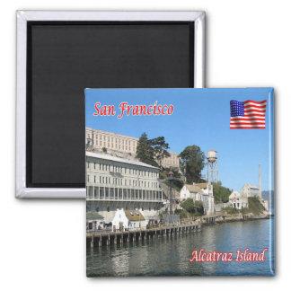 米国米国サンフランシスコアラモ正方形のAlcatraz マグネット