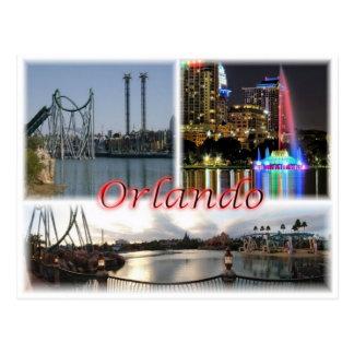 米国米国-オーランドフロリダ- ポストカード