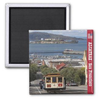 米国米国-サンフランシスコ-アラモ正方形のAlcatraz マグネット