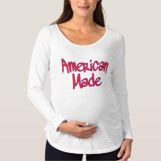米国製のロゴ マタニティTシャツ