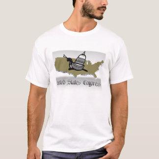 米国議会のかたつむり Tシャツ