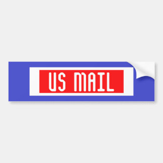 米国郵便バンパーステッカー バンパーステッカー