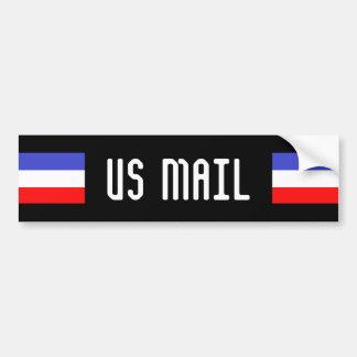 米国郵便 バンパーステッカー