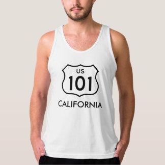 米国101カリフォルニアタンク タンクトップ