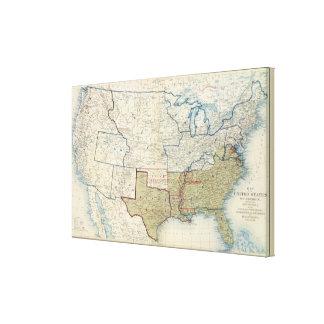 米国1861年6月 キャンバスプリント