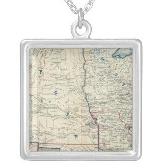 米国1862年6月 シルバープレートネックレス
