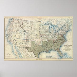 米国1862年6月 ポスター