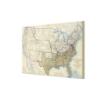 米国1864年6月 キャンバスプリント
