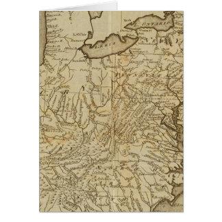 米国3の地図 カード