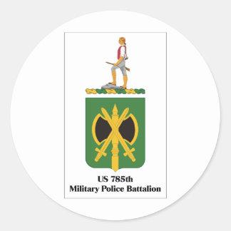 米国785thの憲兵の大隊 ラウンドシール