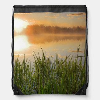 米国、アイダホのwinchester湖の州立公園、Lapwai ナップサック