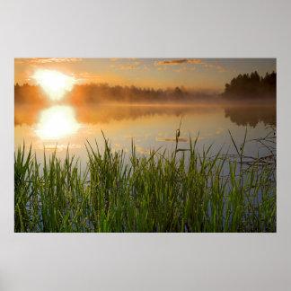 米国、アイダホのwinchester湖の州立公園、Lapwai ポスター
