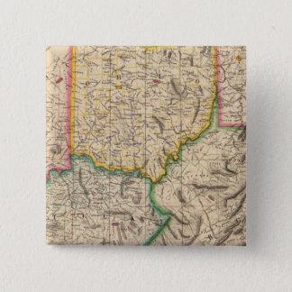 米国、アメリカ9月50日 5.1CM 正方形バッジ