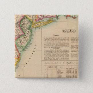 米国、アメリカ9月51日 5.1CM 正方形バッジ
