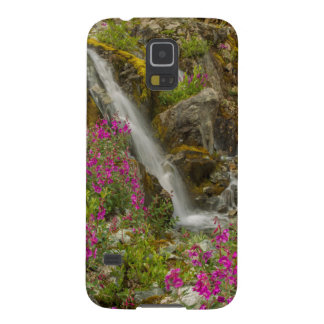 米国、アラスカのグレーシャー入江の国立公園。 Fireweed Galaxy S5 ケース