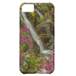 米国、アラスカのグレーシャー入江の国立公園。 Fireweed iPhone5Cケース