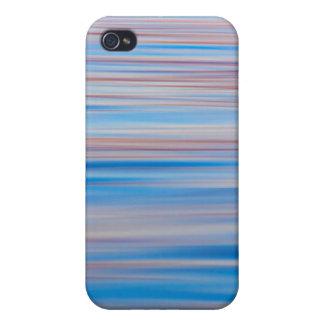 米国、アラスカ。 日没の水抽象芸術 iPhone 4 カバー