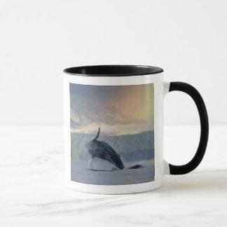 米国、アラスカ、AngoonのザトウクジラのMegaptera マグカップ