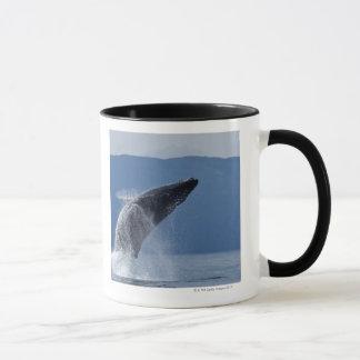 米国、アラスカ、Angoonのザトウクジラ(Megaptera マグカップ
