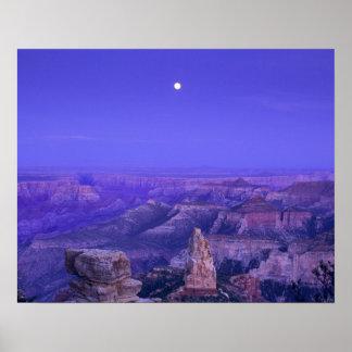 米国、アリゾナのグランドキャニオンの国立公園 ポスター