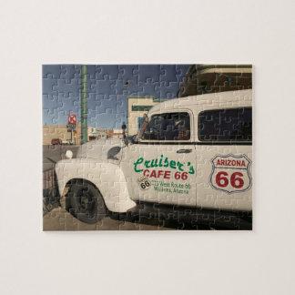 米国、アリゾナ、ウィリアムス: 古い巡洋艦のカフェ66 ジグソーパズル