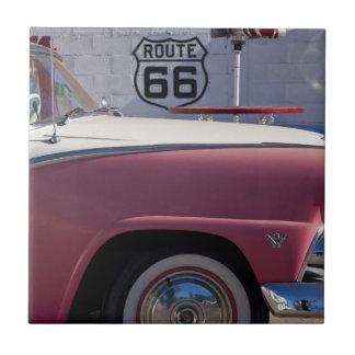 米国、アリゾナ、ウィリアムス。 Rt. 66町、50年代 タイル