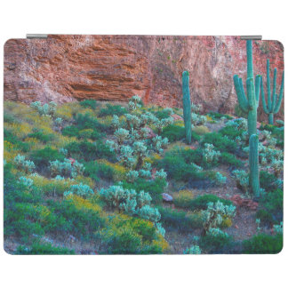 米国、アリゾナ。 砂漠の植物相 iPadスマートカバー