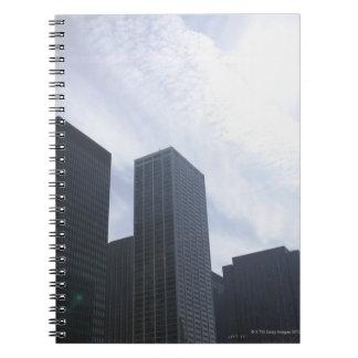 米国、イリノイ、シカゴのスカイライン ノートブック