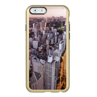 米国、イリノイ、シカゴ、湖の空中写真 INCIPIO FEATHER SHINE iPhone 6ケース