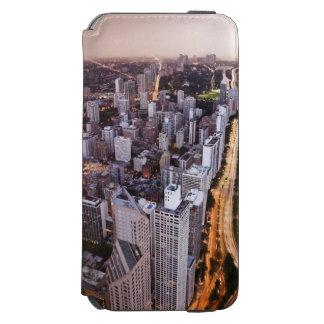 米国、イリノイ、シカゴ、湖の空中写真 INCIPIO WATSON™ iPhone 5 財布型ケース