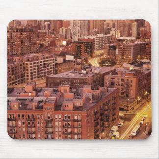 米国、イリノイ、シカゴ、Chicago川2 マウスパッド