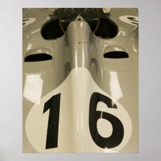 米国、インディアナ、インディアナポリス: インディアナポリスモーター4 ポスター