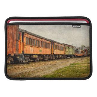 米国、インディアナ。 北のMudsonの鉄道博物館 MacBook スリーブ