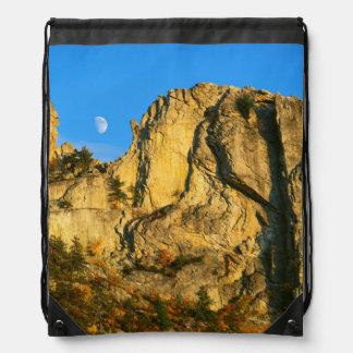 米国、ウェストヴァージニアの小ぎれいなノブセネカ人の石2 ナップサック