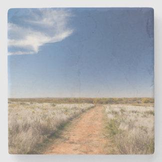 米国、オクラホマの黒いやかんの国民の牧草地 ストーンコースター