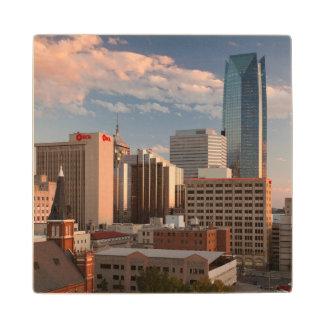 米国、オクラホマ、オクラホマシティーの高い都市 ウッドコースター