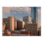 米国、オクラホマ、オクラホマシティーの高い都市 ポストカード
