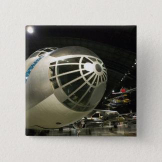 米国、オハイオ州、デイトン: 米国空軍博物館 5.1CM 正方形バッジ