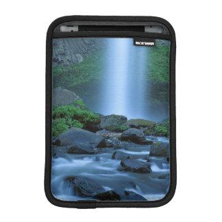 米国、オレゴンのコロンビアの峡谷、Latourellの滝 iPad Miniスリーブ