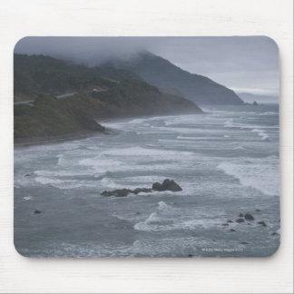 米国、オレゴンの海岸線 マウスパッド