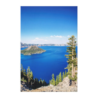 米国、オレゴンのcrater湖の国立公園2 キャンバスプリント