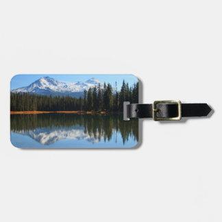 米国、オレゴンのWillametteの国有林2 ラゲッジタグ