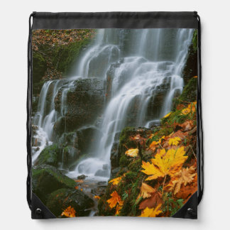 米国、オレゴン、妖精の滝、コロンビア川の峡谷 ナップサック