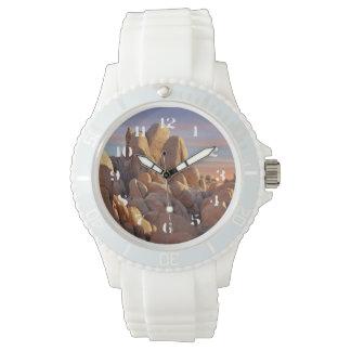 米国、カリフォルニアのジョシュアツリーの国立公園 腕時計