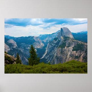 米国、カリフォルニアのヨセミテ国立公園1 ポスター